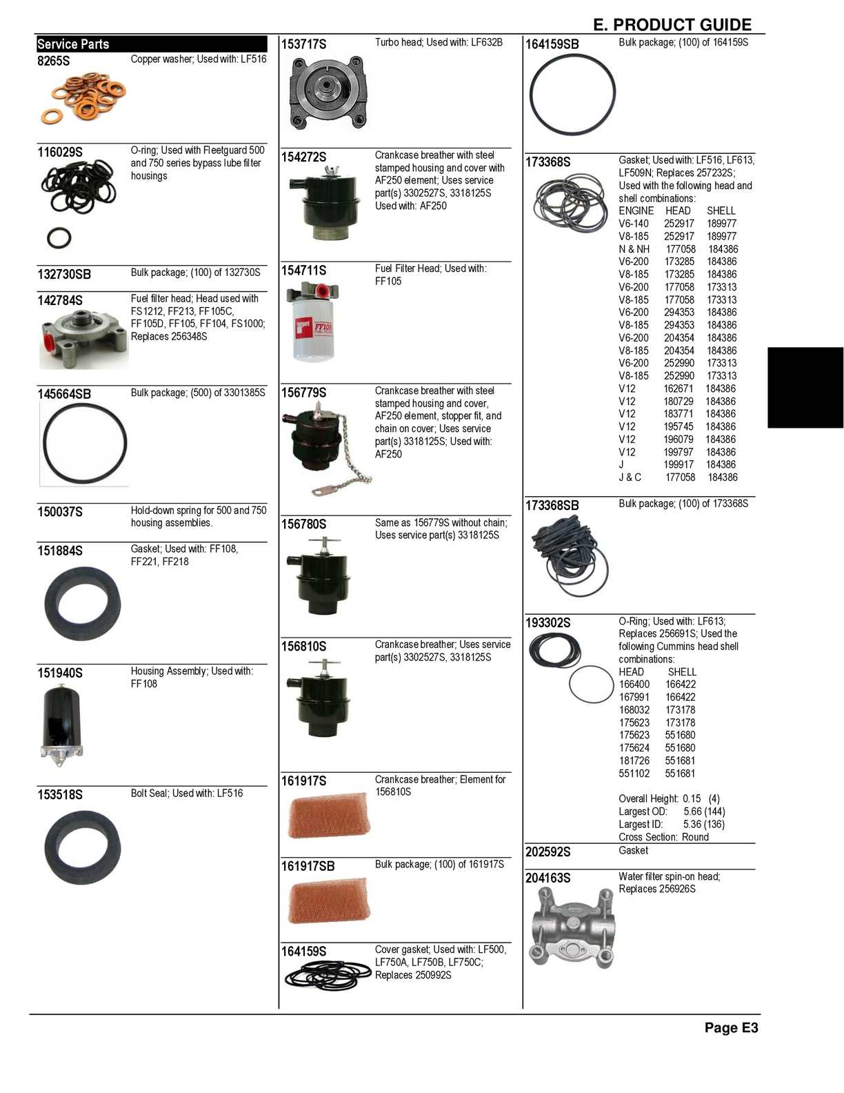 6 5 fuel filter assembly