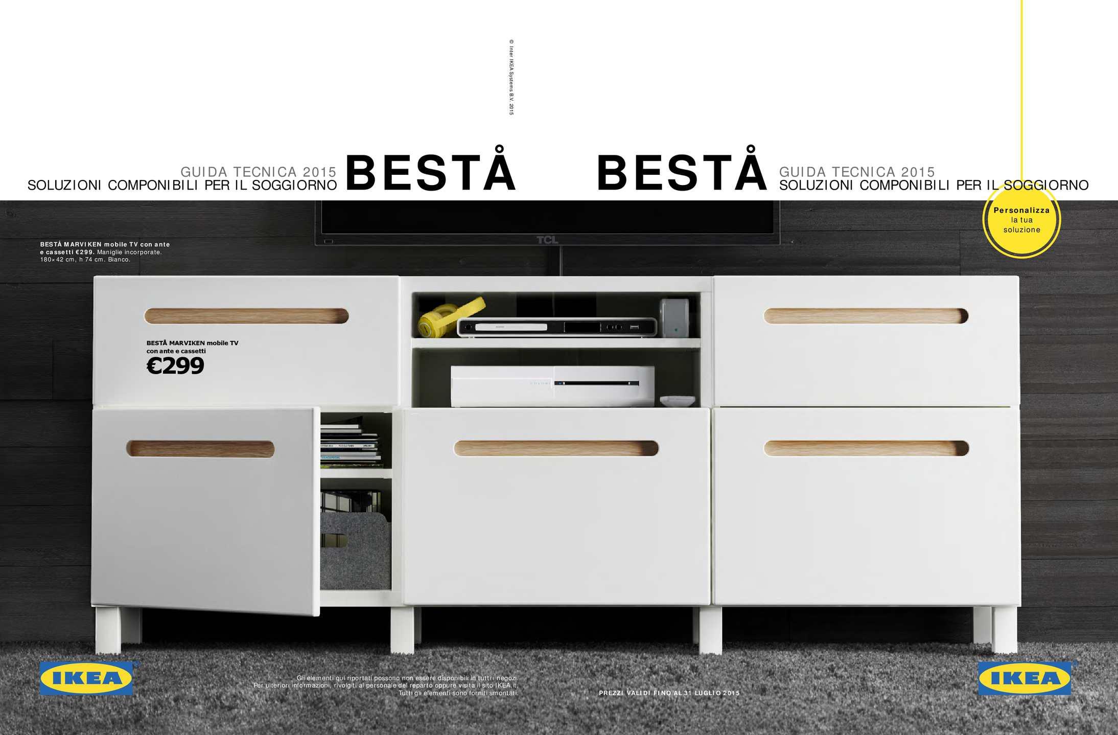 Calamo  Ikea Guida Besta 2015
