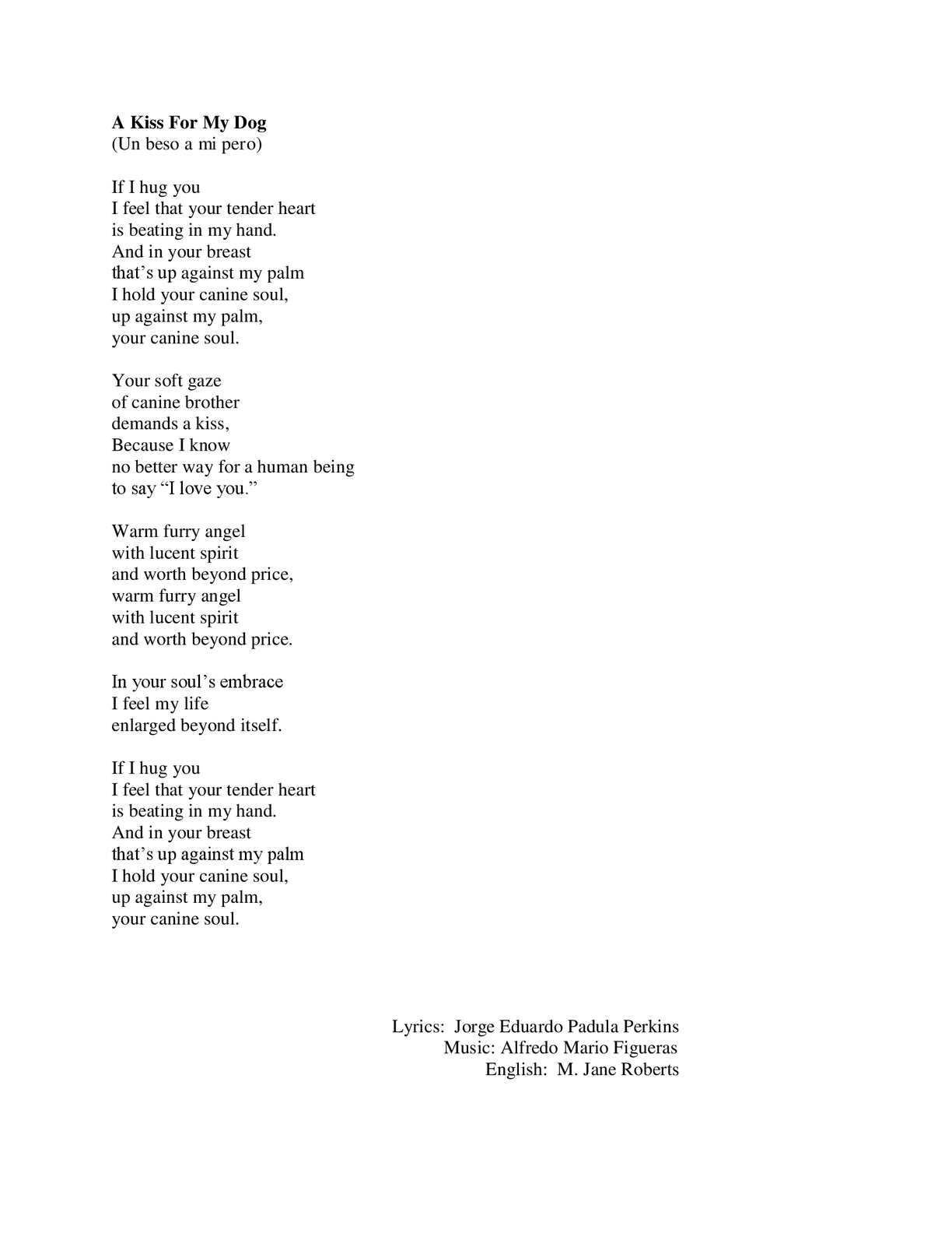 Un Beso Lyrics In English : lyrics, english, Calaméo