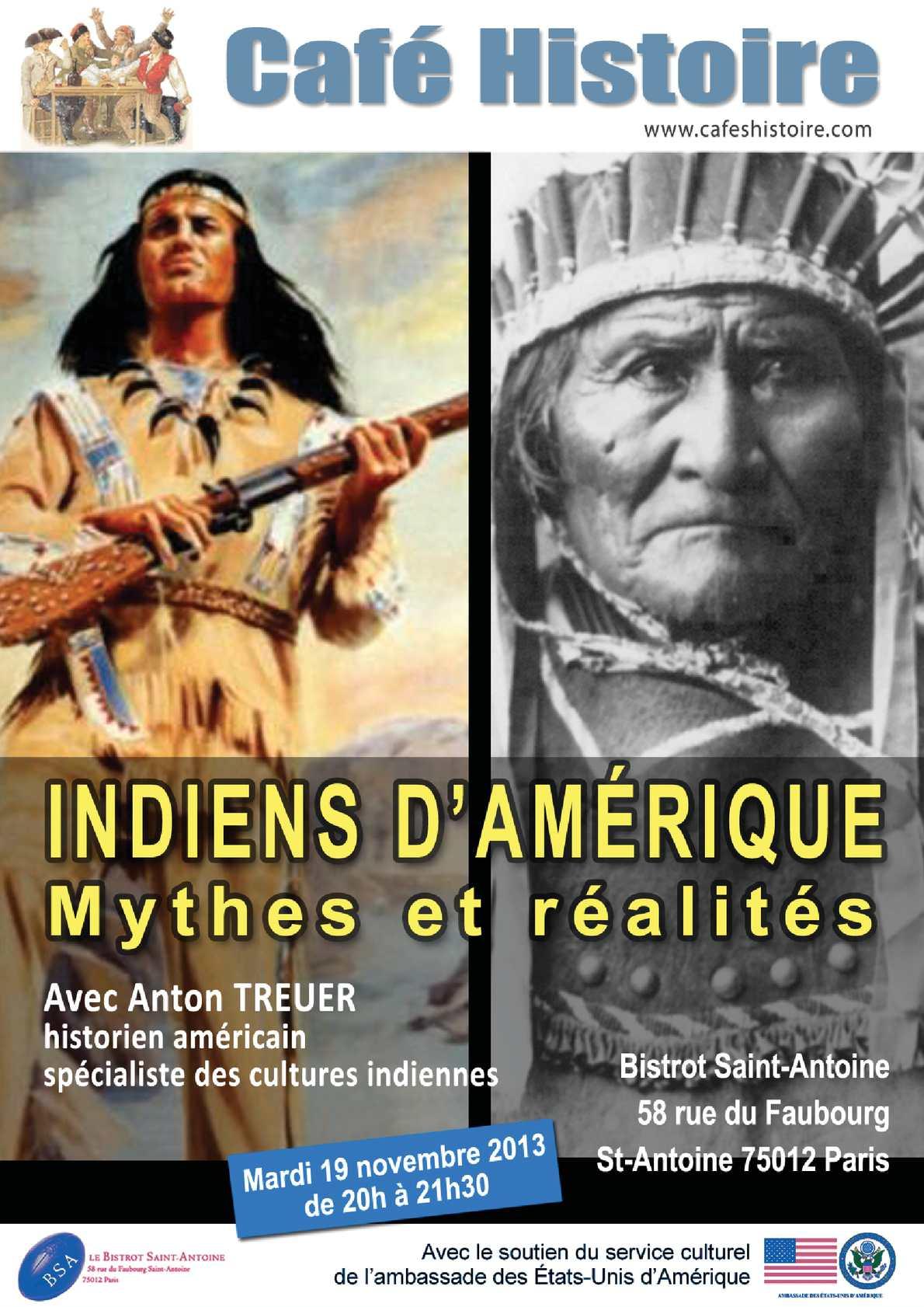 Les Indiens D Amérique Histoire : indiens, amérique, histoire, Calaméo, Indiens, D'Amérique, Mythes, Réalités