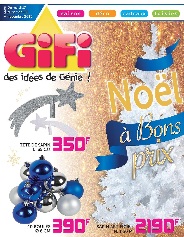 Calameo Catalogue Gifi Tahiti Noel A Bon Prix Du 17 Au 28 11 15