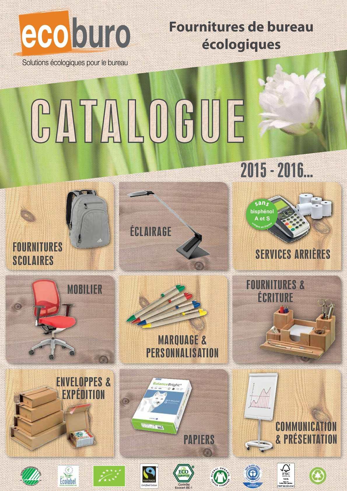 Calamo Catalogue Gnral Ecoburo 2015 2016 V11