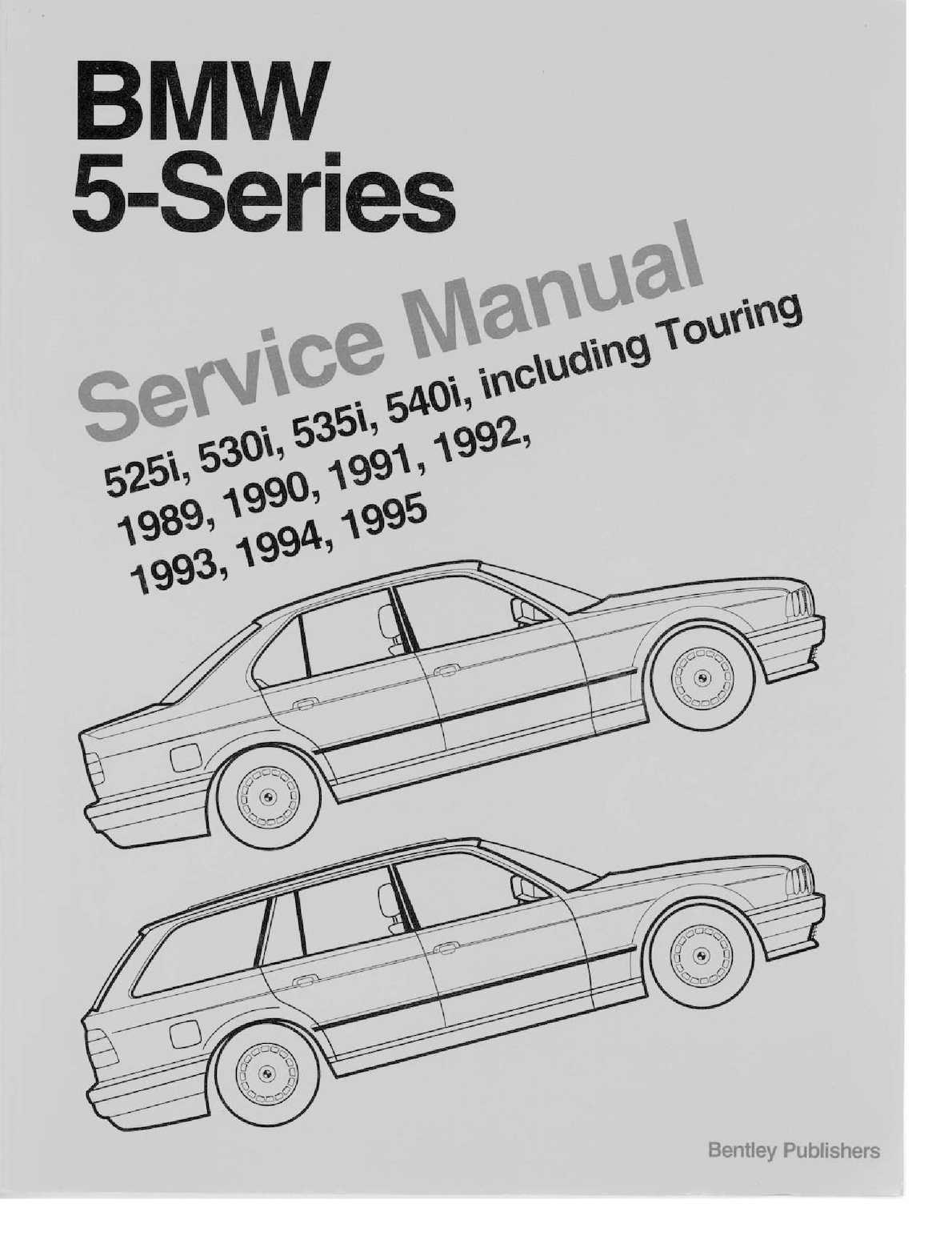 Bentley E34 Manual