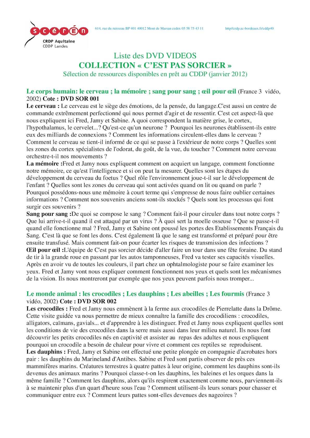 C Est Pas Sorcier Le Pétrole : sorcier, pétrole, Calaméo, Liste, C'est, Sorcier