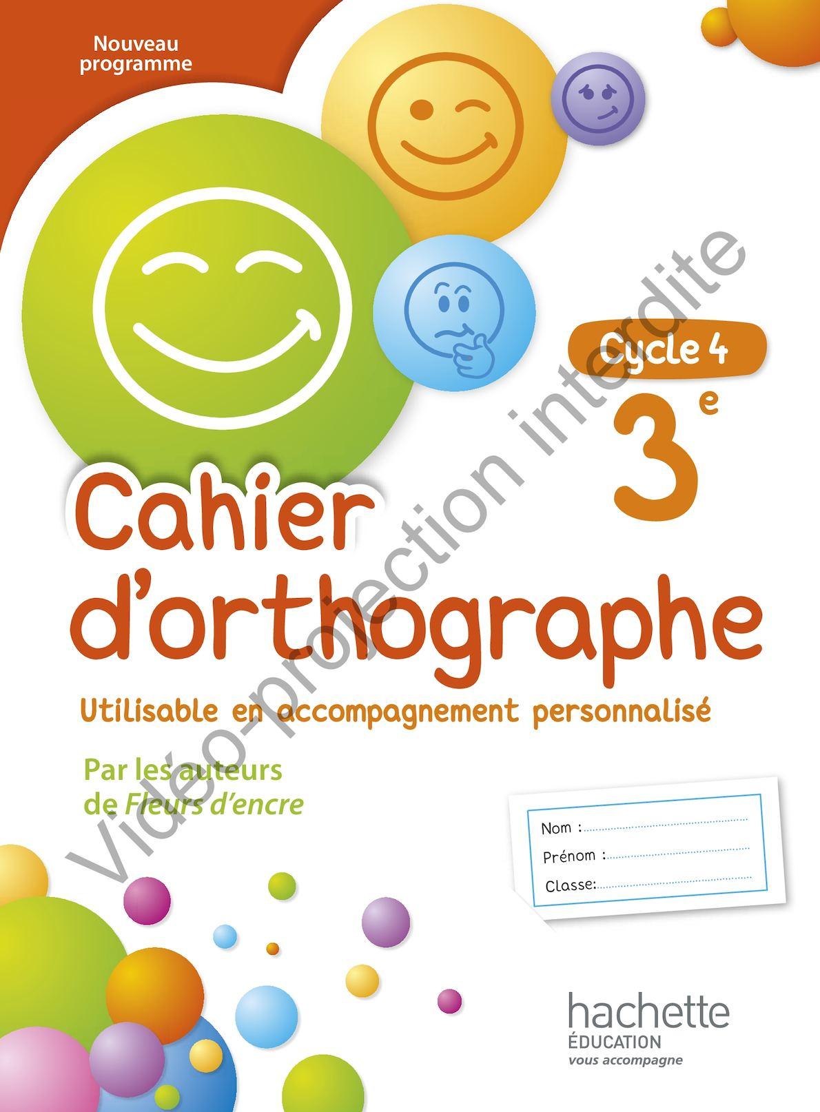 Content Que ça T'ai Plu Orthographe : content, orthographe, Calaméo, CAHIER, D'ORTHOGRAPHE, édition