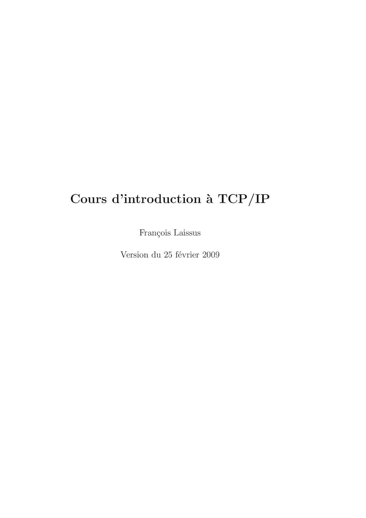 Tcp Ip Pour Les Nuls : Calaméo, TCP/IP
