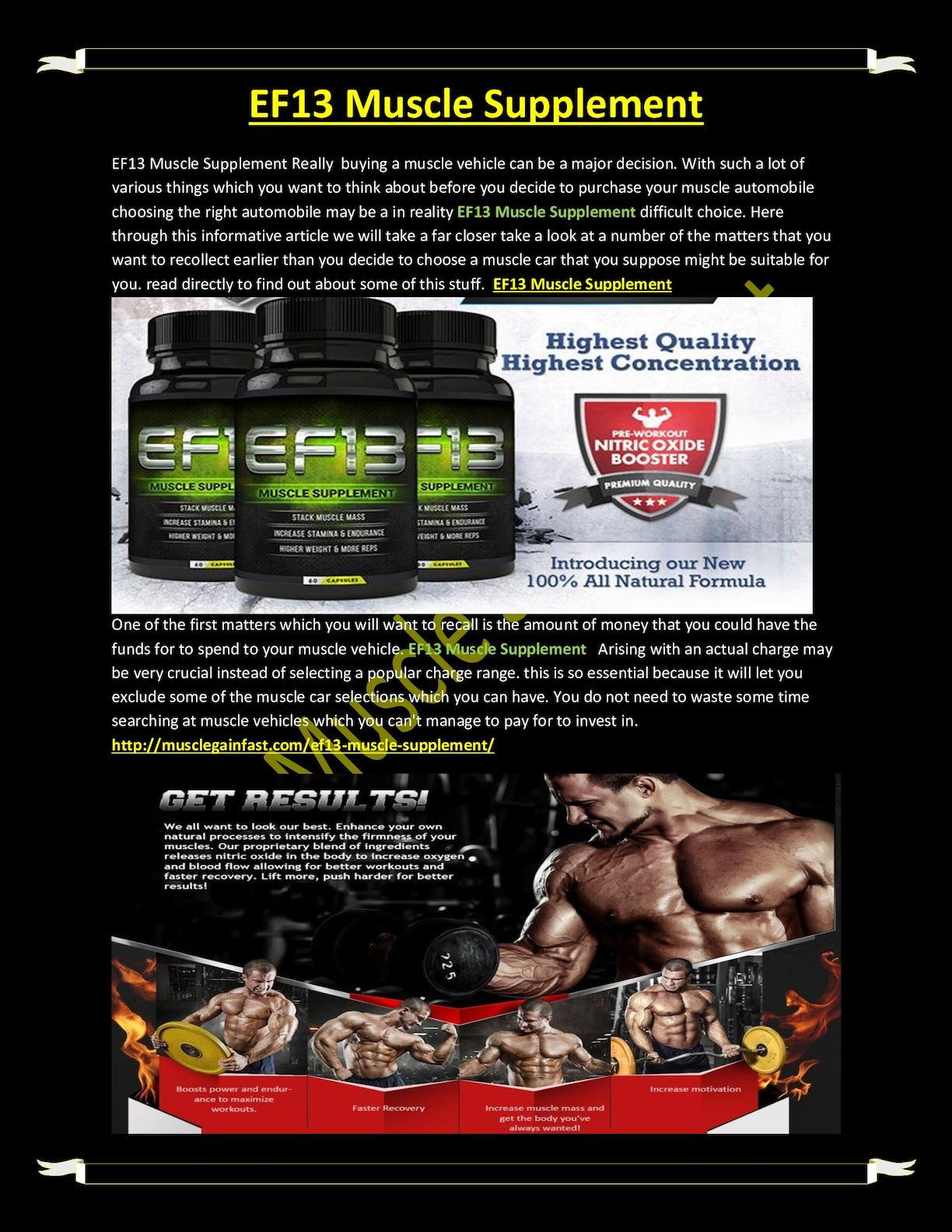 calaméo ef13 muscle supplement