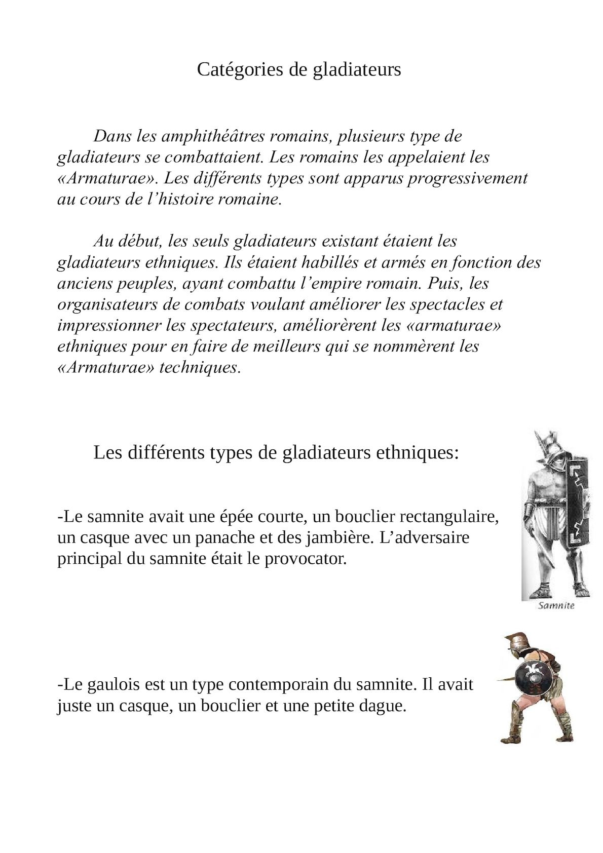 Les Différents Types De Gladiateurs : différents, types, gladiateurs, Calaméo, Hugo,, Léopol, Gaspard, Différents, Types, Gladiateurs