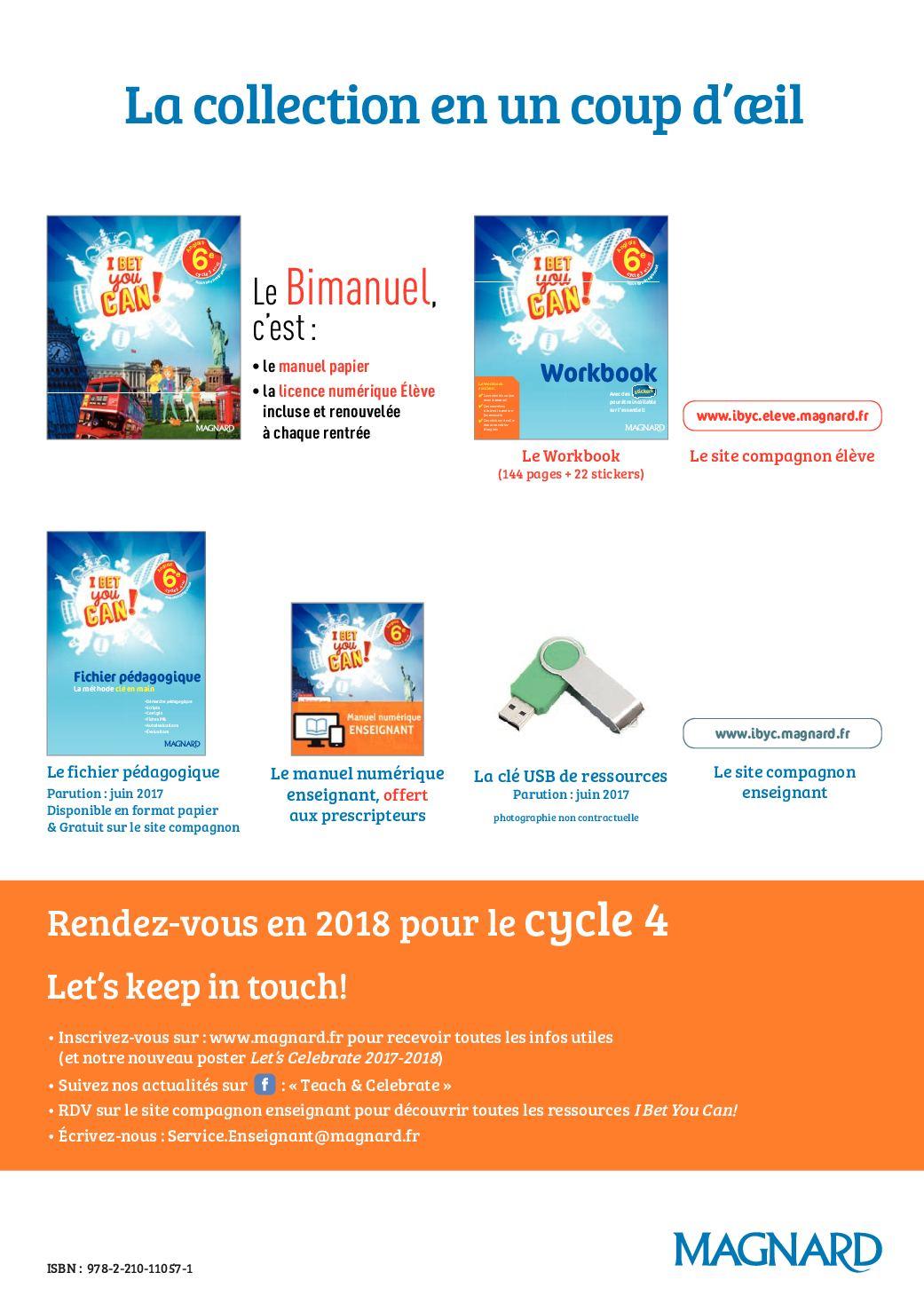 Site Compagnon I Bet You Can : compagnon, (2017), LIVRET, PROMO, CALAMEO, Downloader