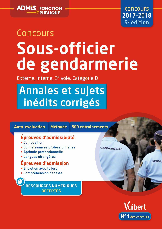 Annales Concours Sous Officier Gendarmerie : annales, concours, officier, gendarmerie, Calaméo, Concours, Sous-officier, Gendarmerie, Catégorie, Annales, Sujets, Inédits, Corrigés