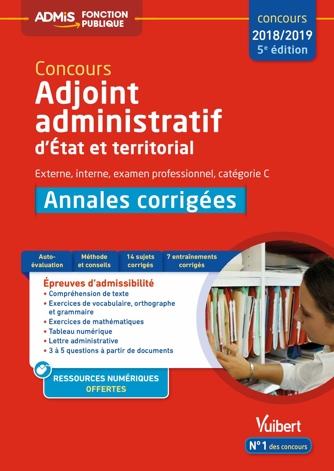 annales corrigees lettre administrative