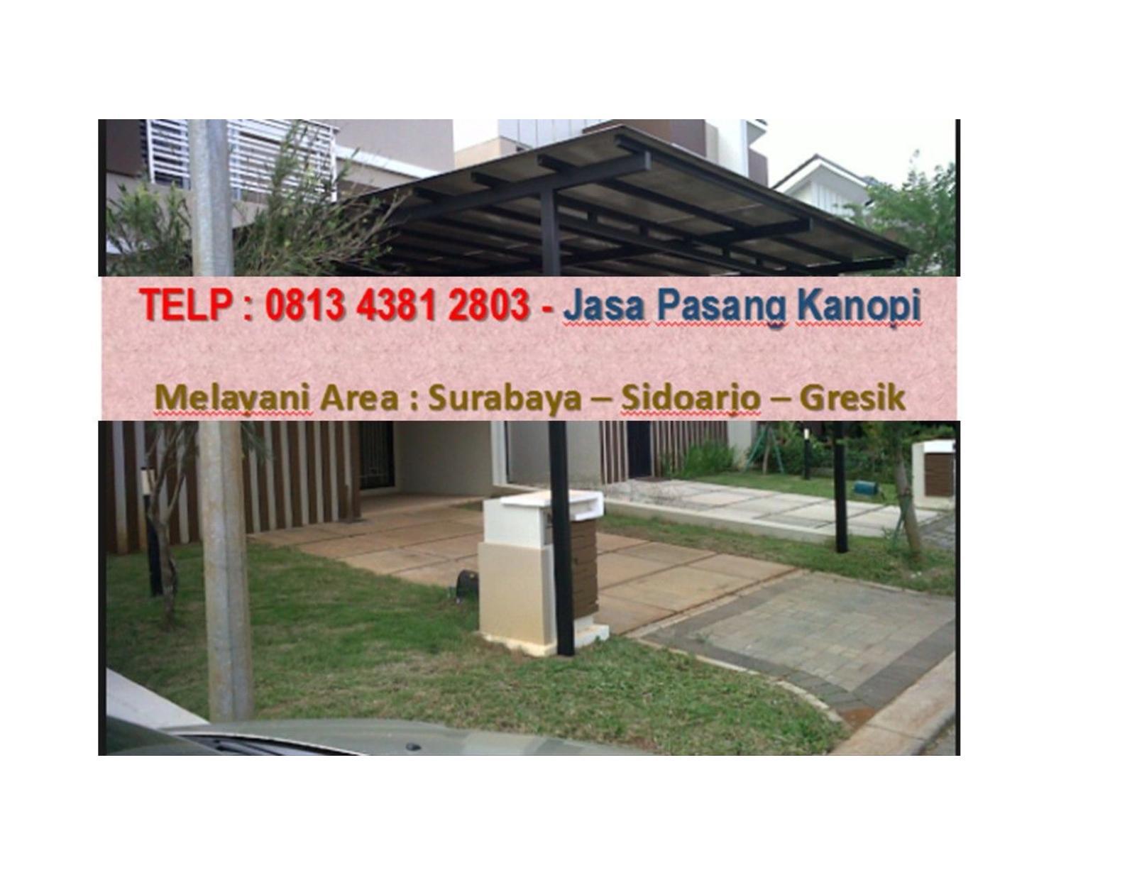 canopy baja ringan tanpa tiang calameo telp wa 0813 4381 2803 kanopi sidoarjo