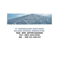 Harga Rangka Atap Baja Ringan Klaten Calameo Distributor Surabaya Tlp 0821 3233 9545