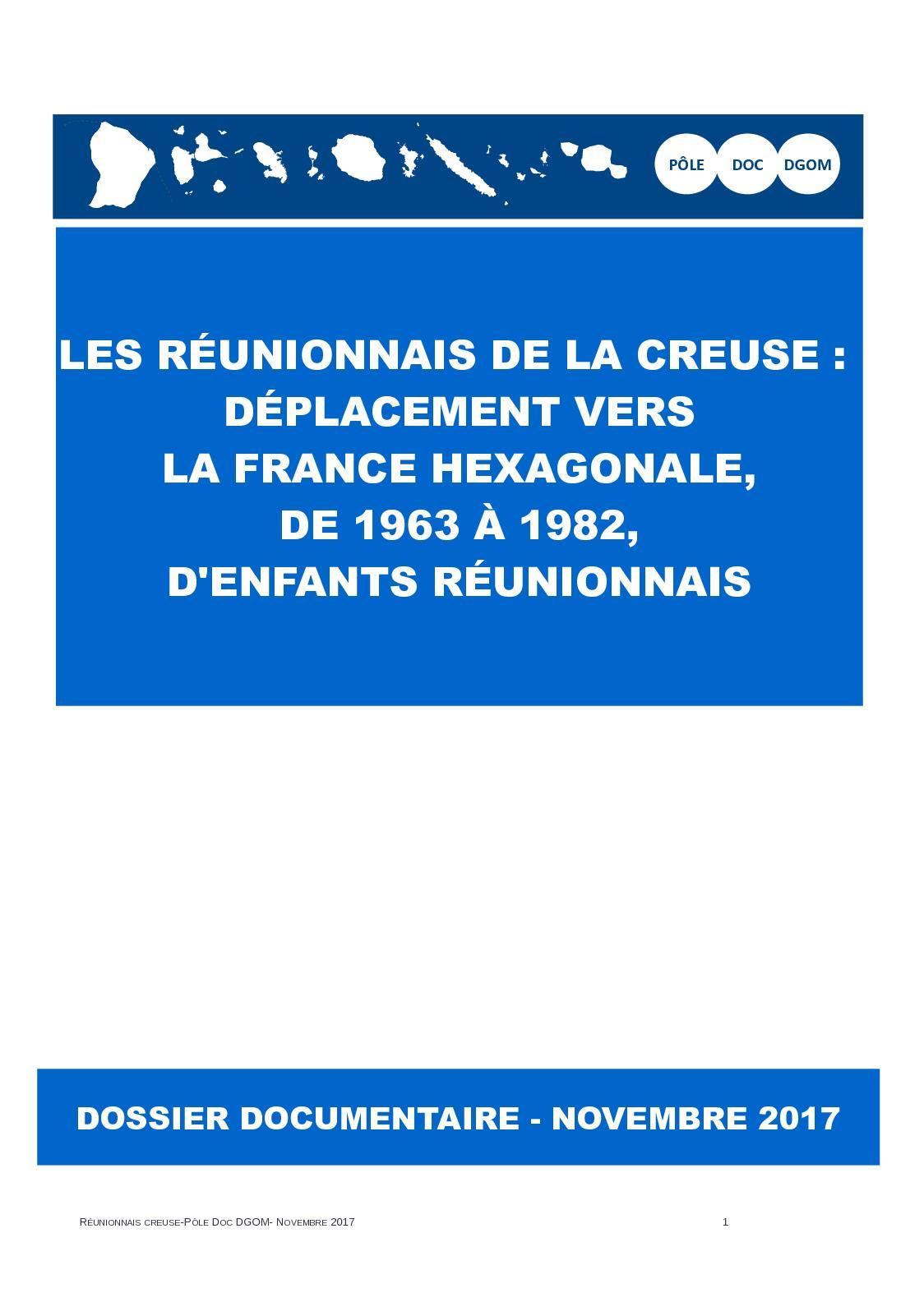 La Deportation Des Reunionnais De La Creuse : deportation, reunionnais, creuse, Calaméo, Reunionnais, Creuse