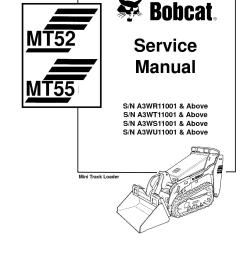 calam o bobcat mt55 compact track loader service repair manual sn a3wr11001 above [ 1233 x 1595 Pixel ]