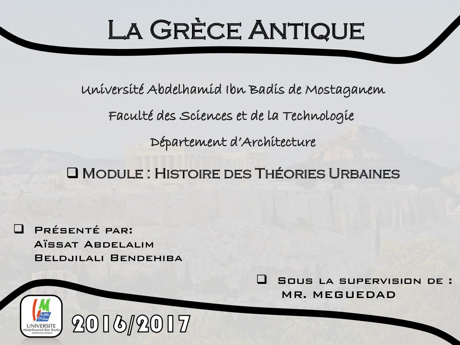 Calameo Expose Sur La Civilisation Grecque