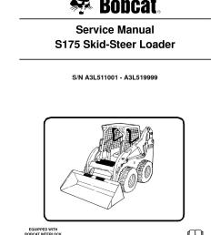 calam o bobcat s175 skid steer loader service repair manual sn bobcat skid loader belt diagrams [ 1233 x 1595 Pixel ]