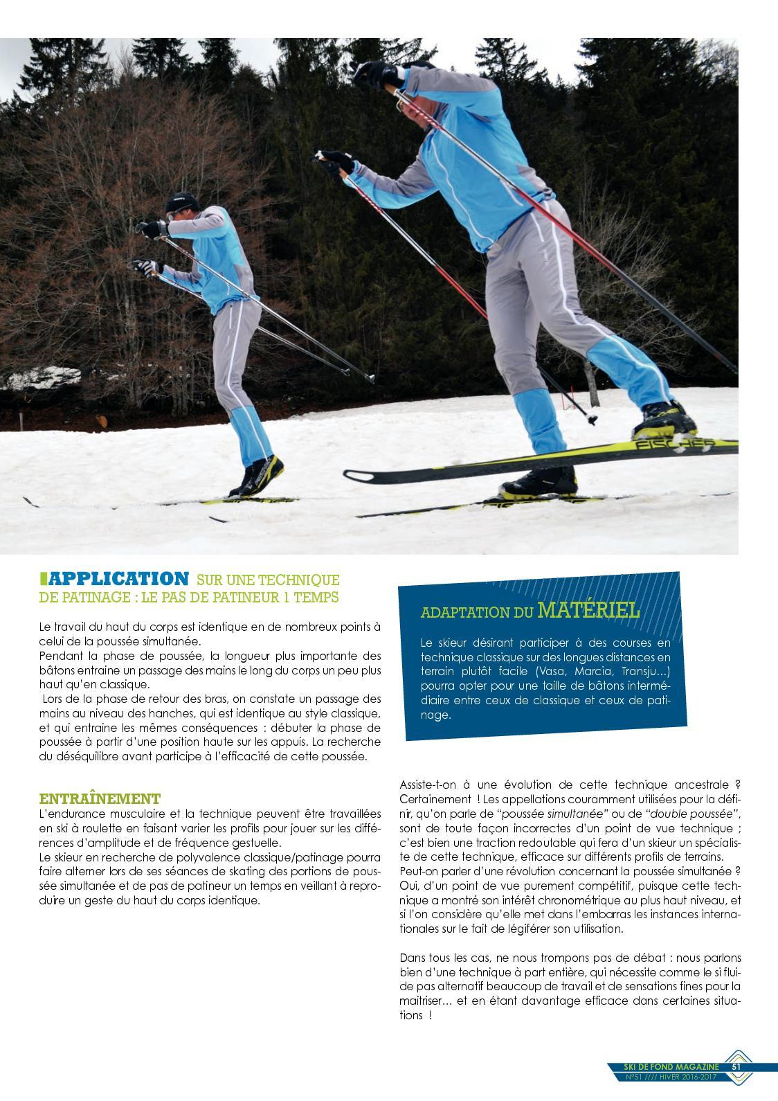 Technique Ski De Fond Skating : technique, skating, Revue, N°51, CALAMEO, Downloader