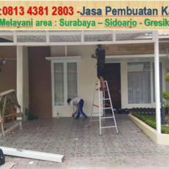 Kanopi Baja Ringan Vs Besi Hollow Calameo Telp Wa 0813 4381 2803 Spandek Surabaya