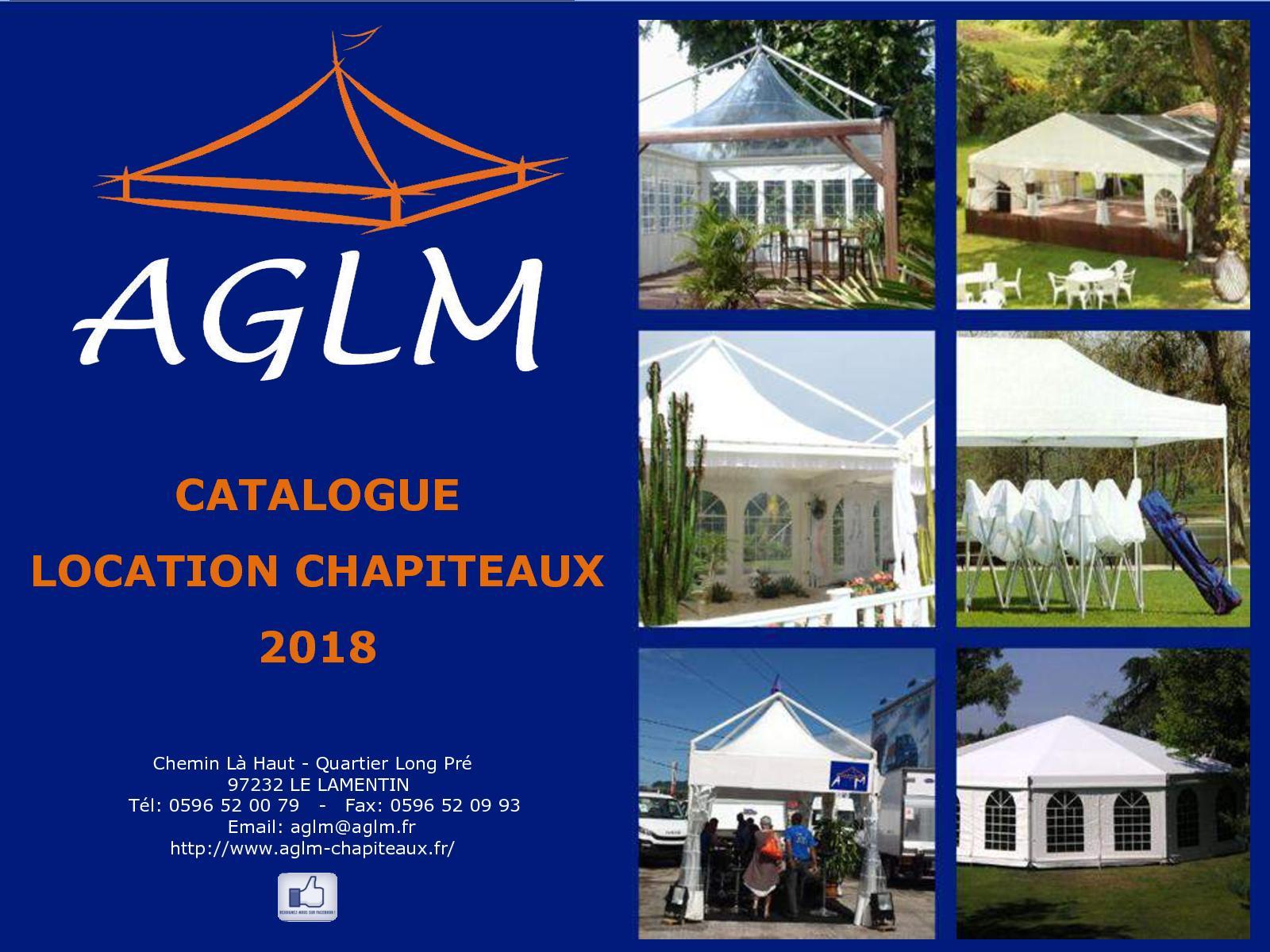 calameo catalogue aglm chapiteaux et