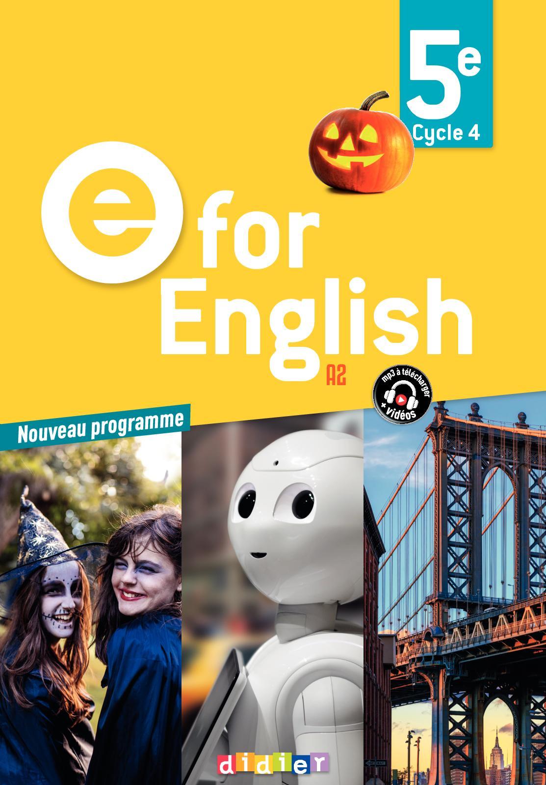 Calaméo - Extrait - E For English 5e