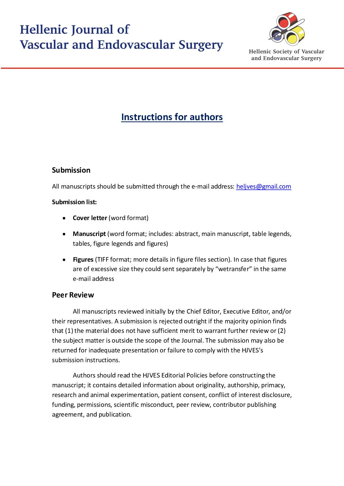 Executive Editor Cover Letter Calaméo Instructions For Authors