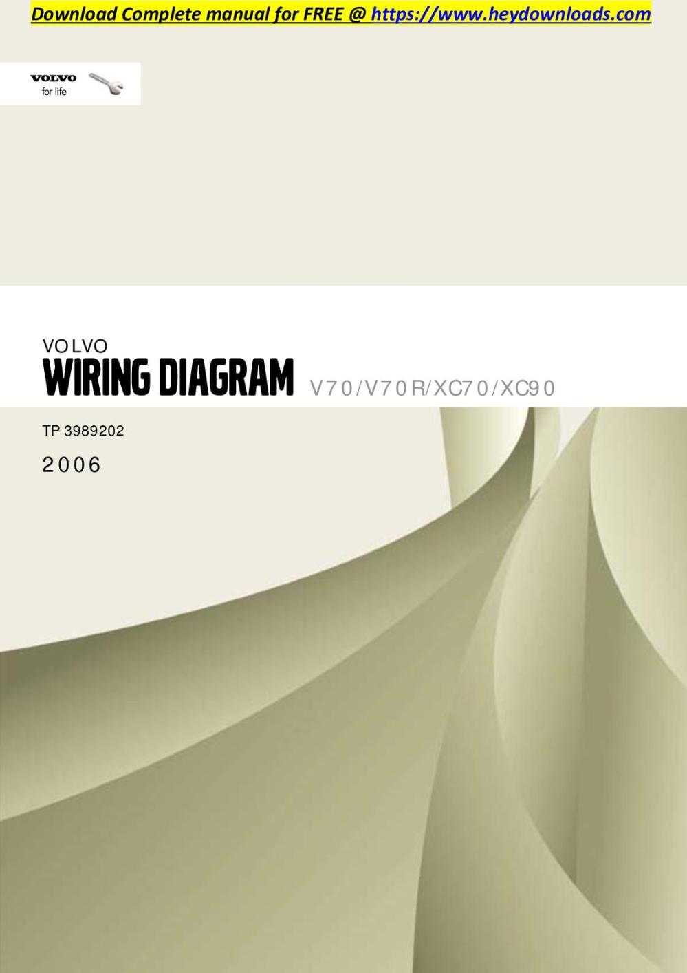 medium resolution of calam o volvo xc70 2006 v70 v70r xc70 xc90 wiring diagram volvo xc90 audio wiring diagram volvo xc90 wiring diagram