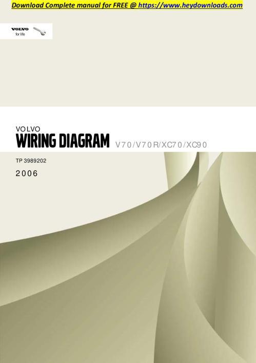 small resolution of calam o volvo xc70 2006 v70 v70r xc70 xc90 wiring diagram volvo xc90 audio wiring diagram volvo xc90 wiring diagram