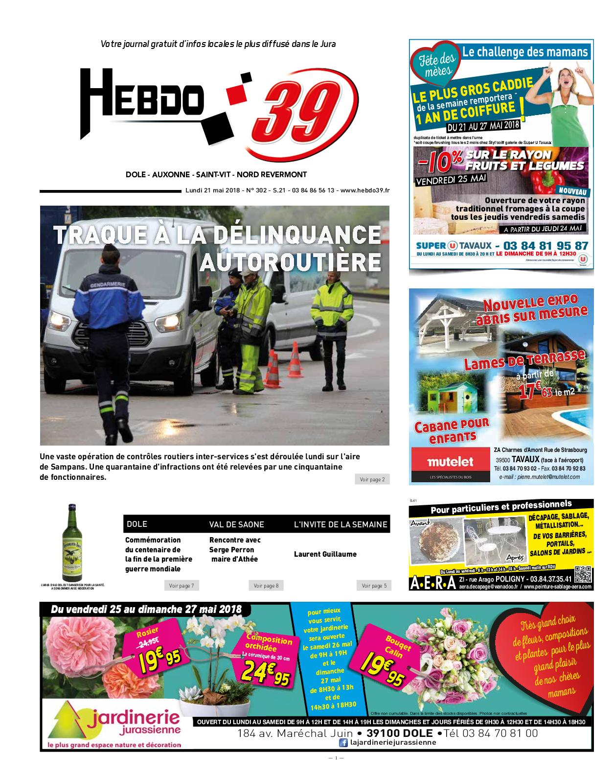 Calameo Hebdo Dole S21