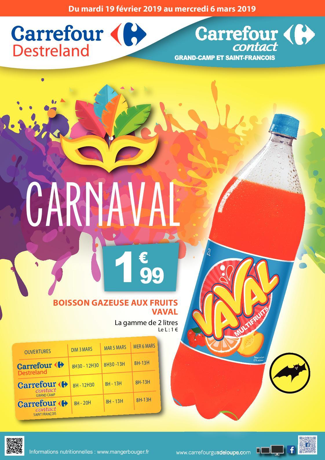catalogue carrefour destreland carnaval