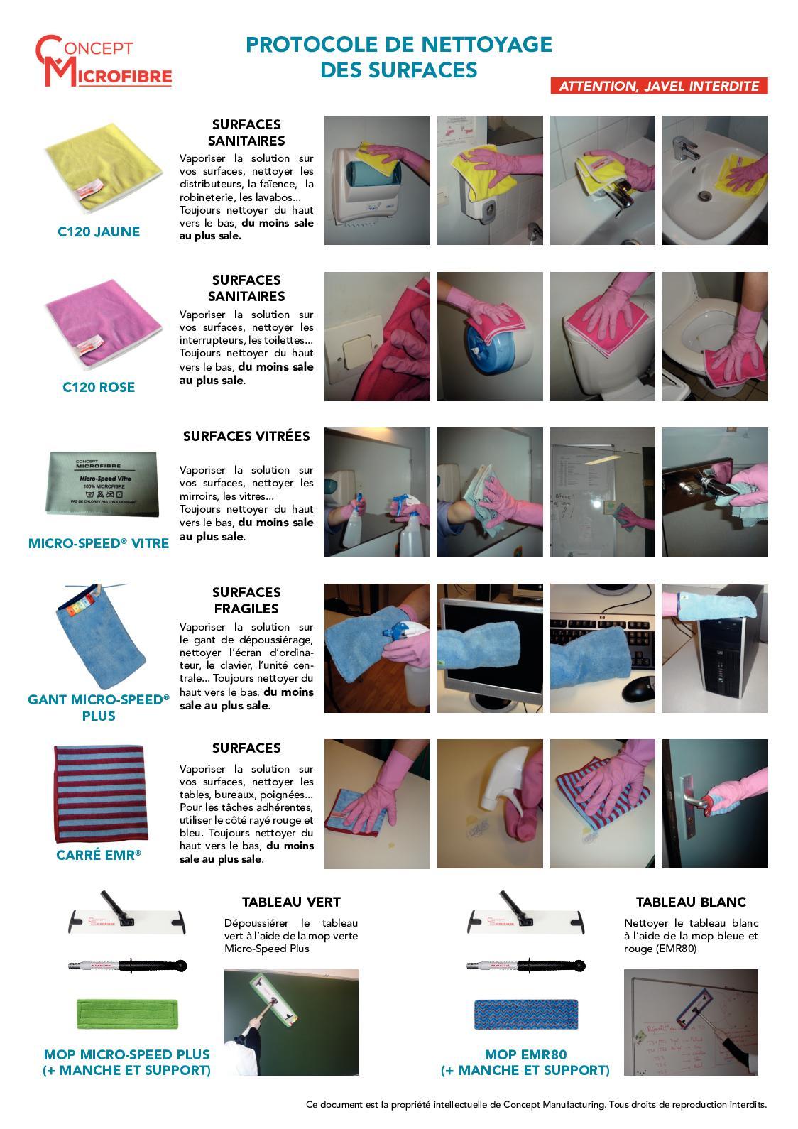 Comment Nettoyer Un Tableau Blanc : comment, nettoyer, tableau, blanc, Calaméo, Collectivité, Protocole, Nettoyage, Surfaces, Lycee