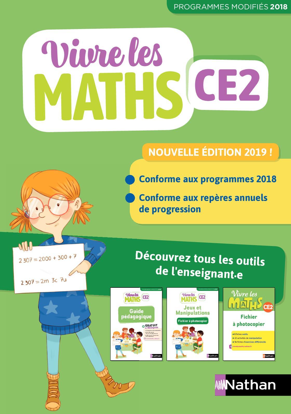 Vivre Les Maths Ce2 Site Compagnon : vivre, maths, compagnon, Calaméo, Extrait, Vivre, Maths