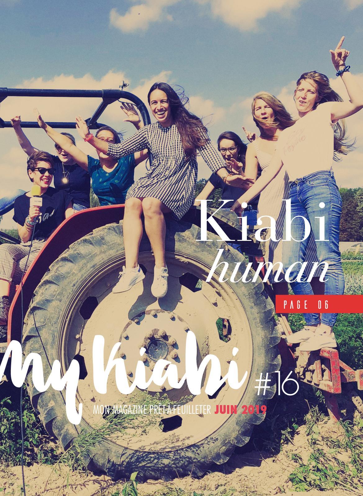 Kiabi.com/calendrier-bonheur : kiabi.com/calendrier-bonheur, Calaméo, Kiabi