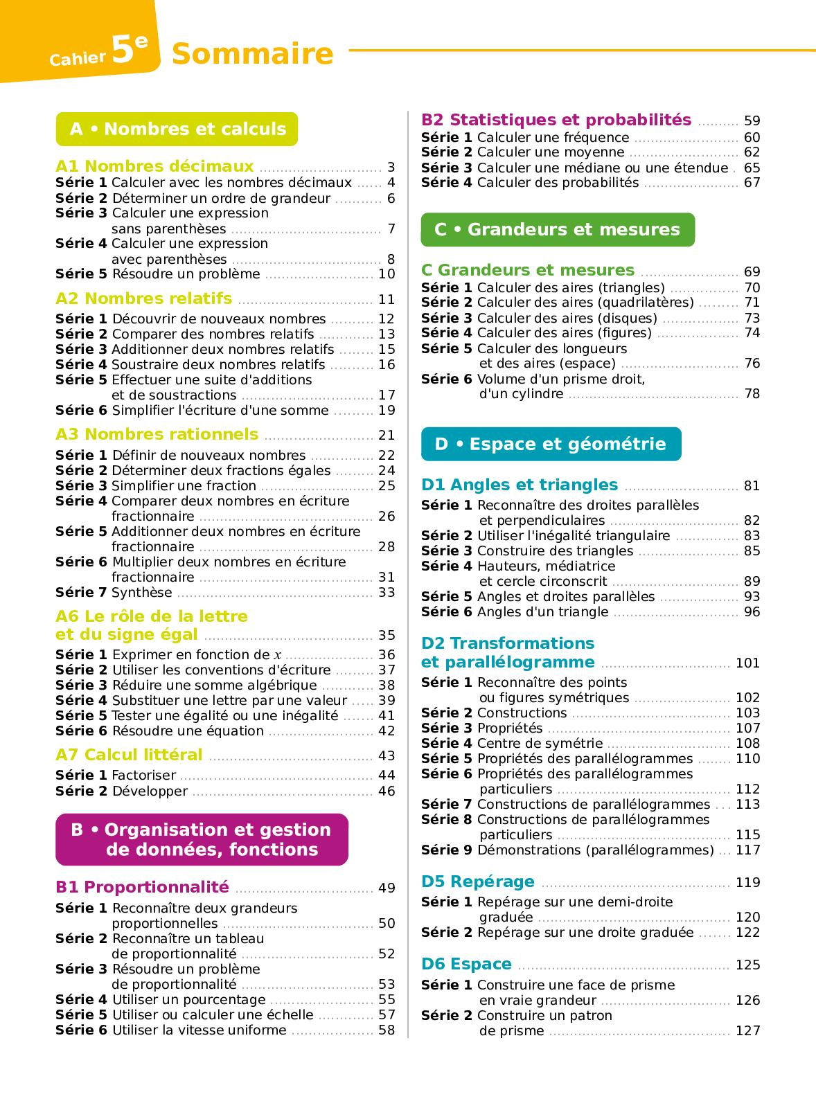 Sesamath 4eme Correction Des Exercices : sesamath, correction, exercices, Sesamath, Cycle