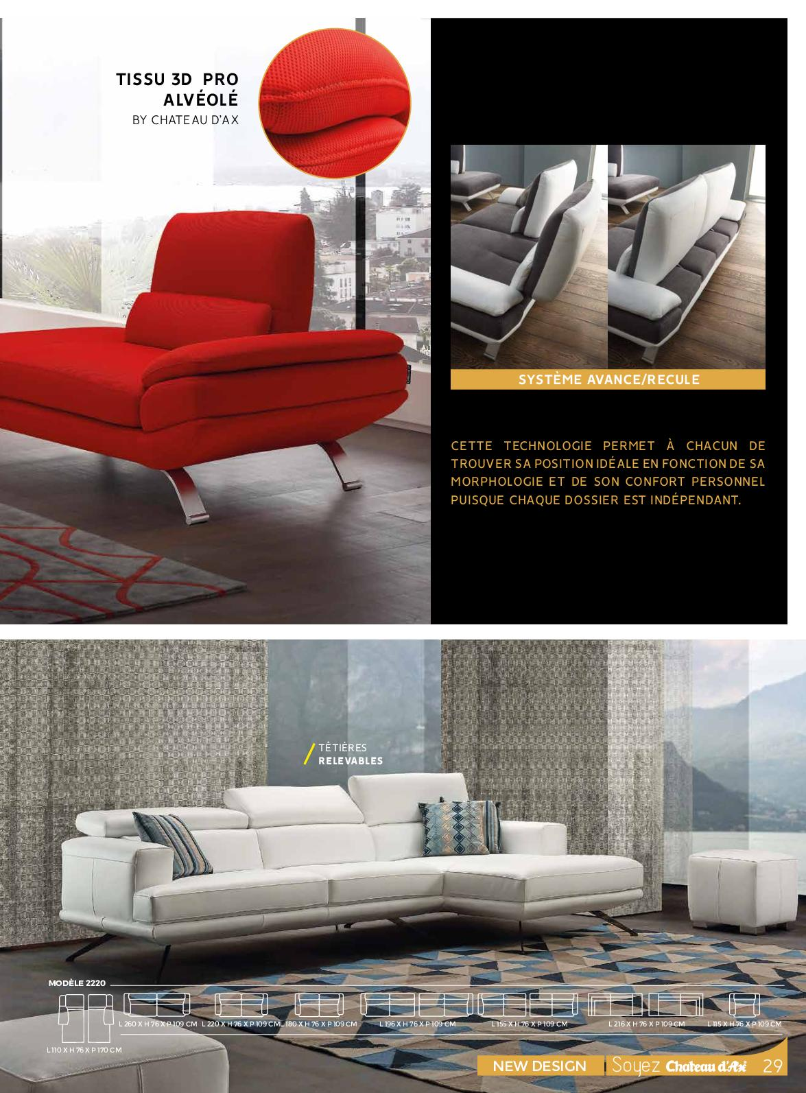 Non più solo comfort per il relax e il tempo libero nel. Catalogue Chateau D Ax 2020 Calameo Downloader