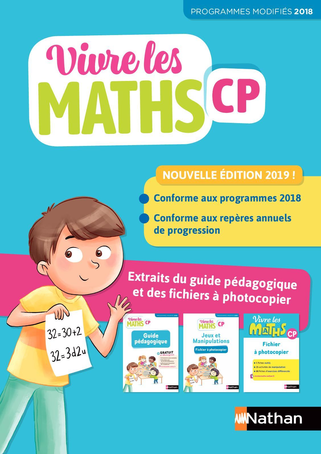 Vivre Les Maths Cp Site Compagnon : vivre, maths, compagnon, Calaméo, Extrait, Vivre, Maths, Guide, Pédagogique