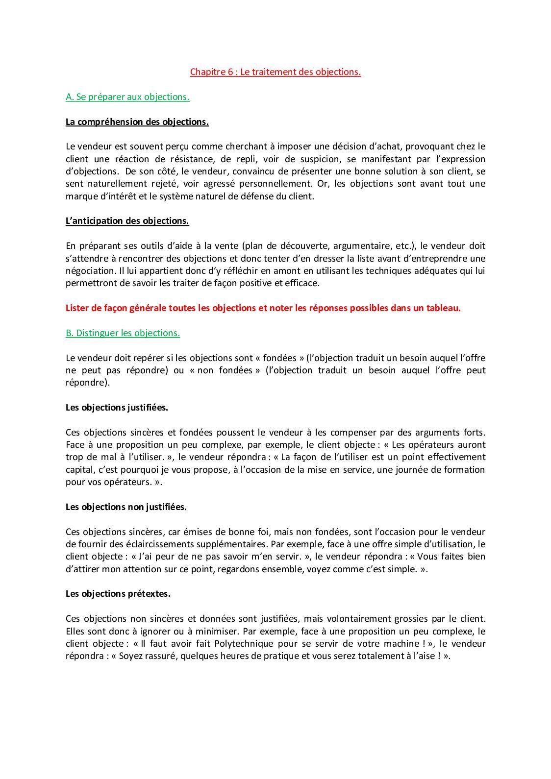 Argumentation Et Traitement Des Objections : argumentation, traitement, objections, Calaméo, Chapitre, Traitement, Objections