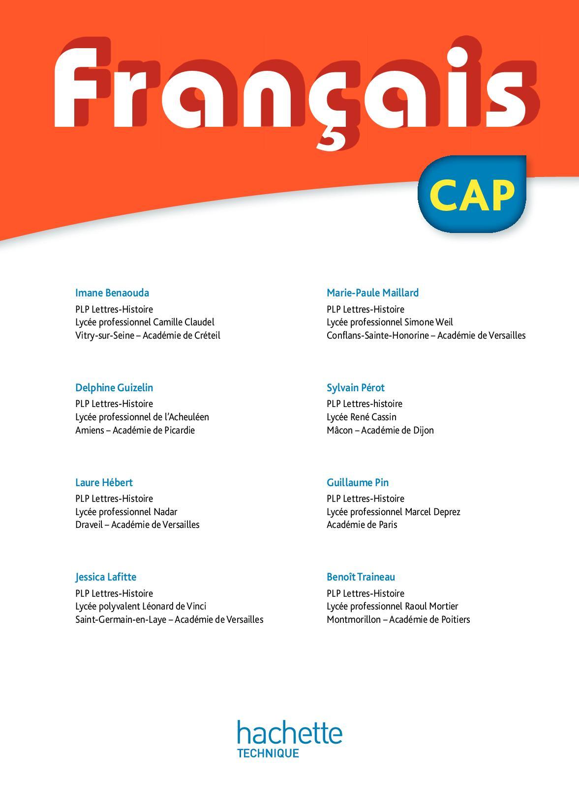 Séquence Français Cap S'insérer Dans L'univers Professionnel : séquence, français, s'insérer, l'univers, professionnel, Calaméo, Français