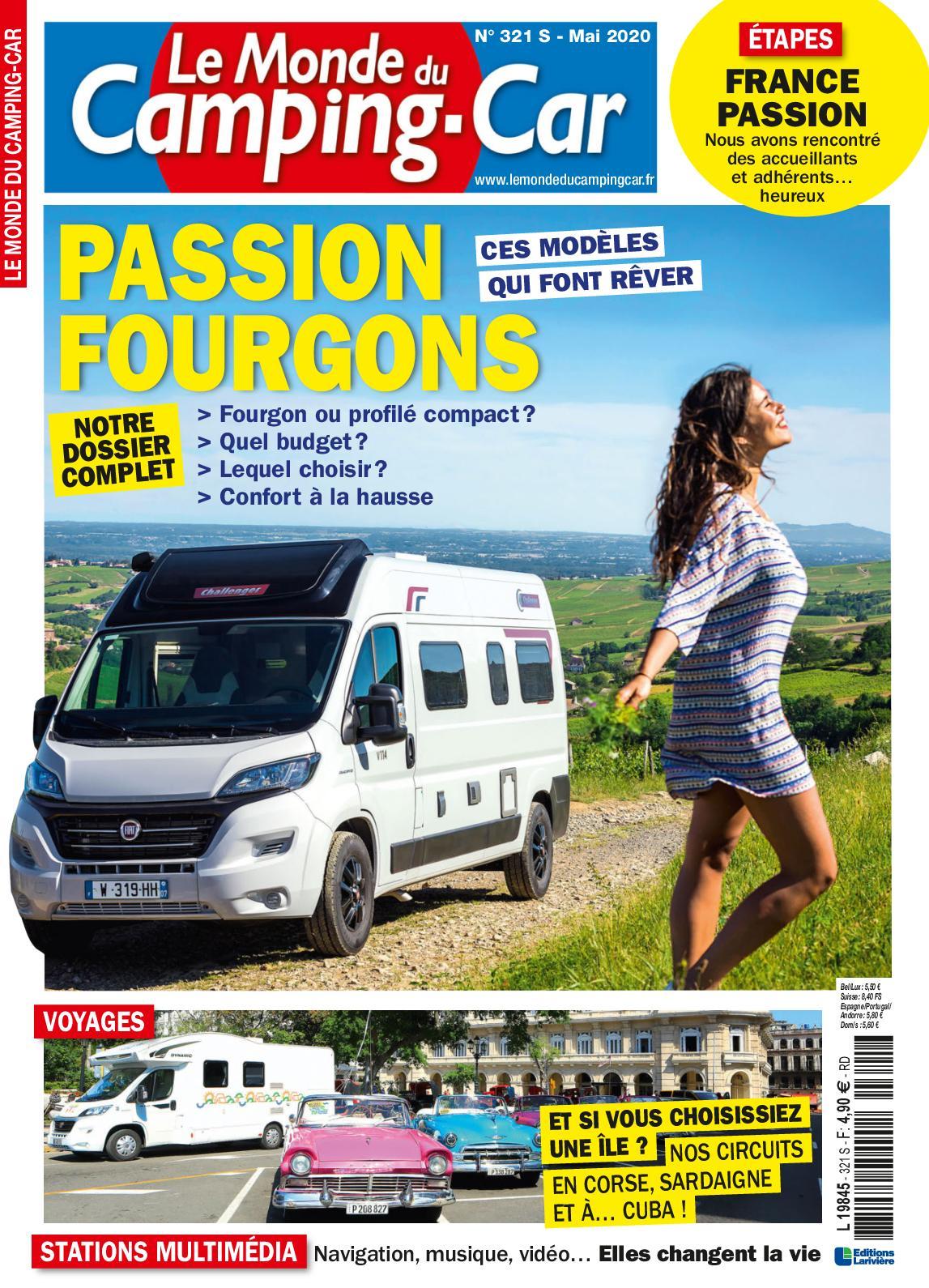 Le Monde Du Camping-car Rencontre : monde, camping-car, rencontre, Calaméo, Monde, Camping-Car, Edition, Speciale