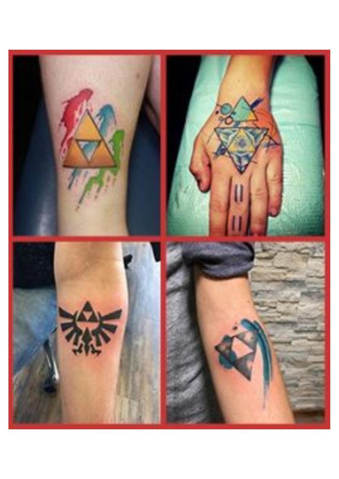 Triforce Tattoo : triforce, tattoo, Calaméo, Triforce, Tattoo, 254x300, Dönüştürüldü