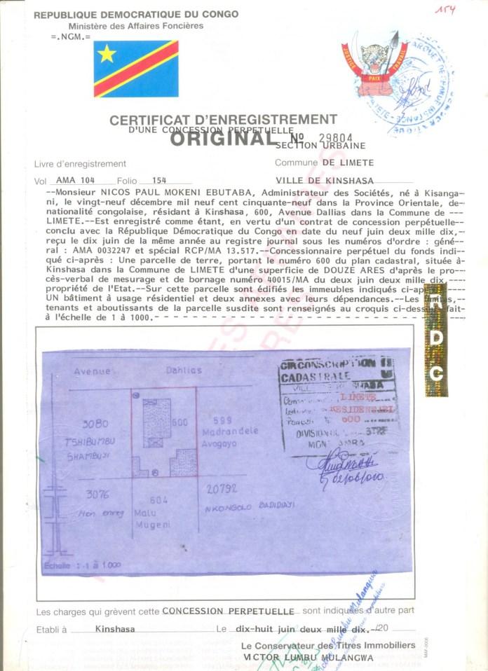 Certificat-d-EnregistrementM-NICOS-PAUL-MOKENI-EBUTABA-par-