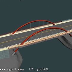 Wood Kitchen Playsets Remodel San Antonio 桥梁设计,路桥设计3d模型_基础设施_建筑模型_3d模型免费下载_摩尔网
