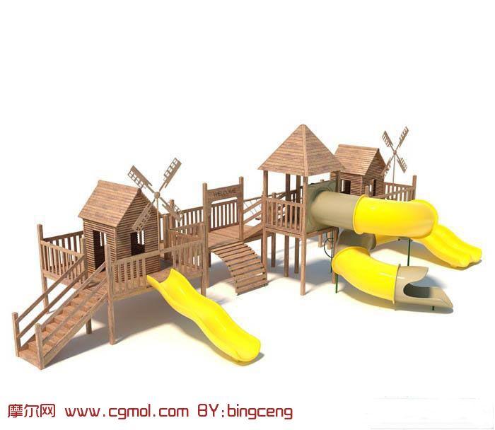long kitchen tables black chairs cheap 滑梯,公园娱乐设施3d模型_其他建筑_建筑模型_3d模型免费下载_摩尔网