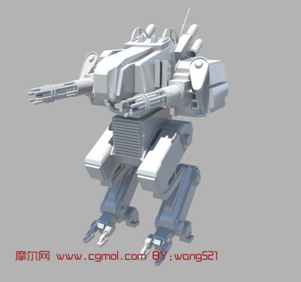 kitchen machine compact kitchens 机器人maya模型_机械角色_机械模型_3d模型免费下载_摩尔网