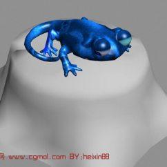 Kitchen Stool Seating Ideas 卡通变色龙3d模型_爬行动物_动物模型_3d模型免费下载_摩尔网