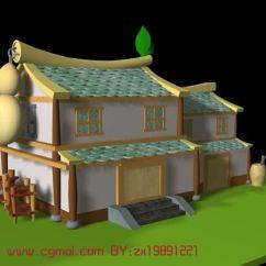 Wallpaper For Kitchen Utensils Strainer 卡通版房子,q版房子3d模型_其他建筑_建筑模型_3d模型免费下载_摩尔网
