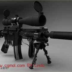 Complete Kitchen Modular Outdoor Kits M4狙击枪maya模型_枪械模型_军事模型_3d模型免费下载_摩尔网