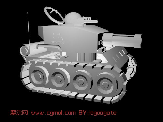 metal kitchen rack lighting 安卓小坦克,卡通,战车max模型_机械工具_机械模型_3d模型免费下载_摩尔网