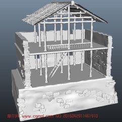 Complete Kitchen Cost For New Cabinets 古代破损小屋maya场景,自然场景,场景模型,3d模型下载,3d模型网,maya模型免费下载,摩尔网