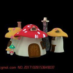 Kitchen Banquettes For Sale Touch Faucet Reviews 蘑菇小屋,现代场景,场景模型,3d模型下载,3d模型网,maya模型免费下载,摩尔网
